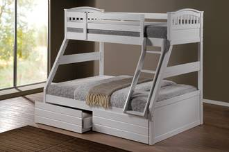 Ashley Duo Bunk White