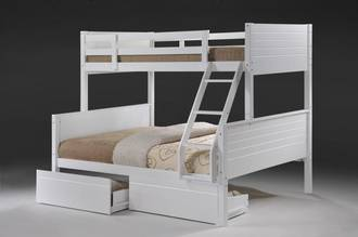 Jupiter Duo Bunk White