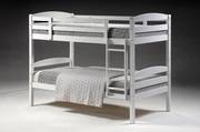 Cosmos King Single Bunk White