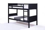 Jupiter Single Bunk Black with Fixed Ladder