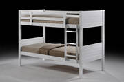 Jupiter King Single Bunk White