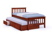 Maya Single Captain Bed Antique Oak